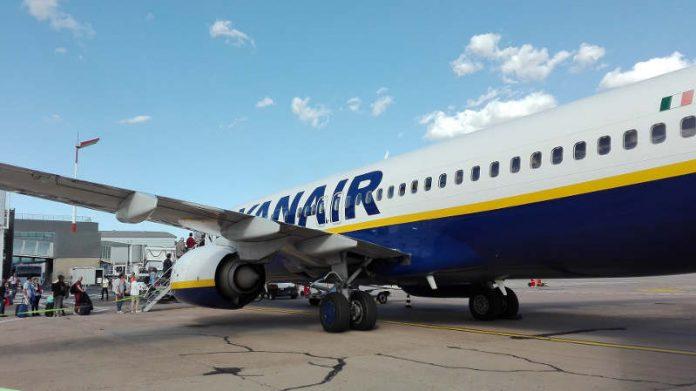 Ryanair maleta